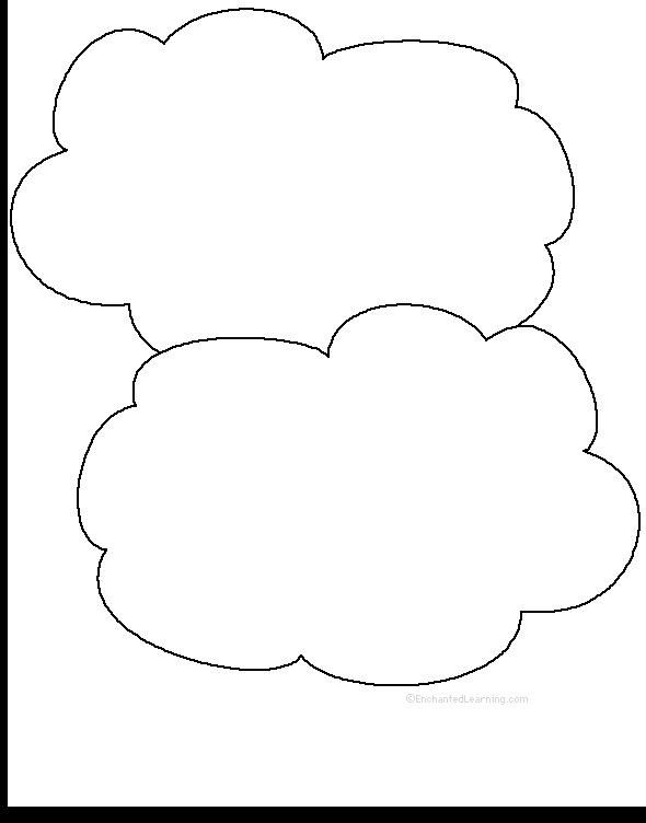adjectives describing the clouds printable worksheet. Black Bedroom Furniture Sets. Home Design Ideas