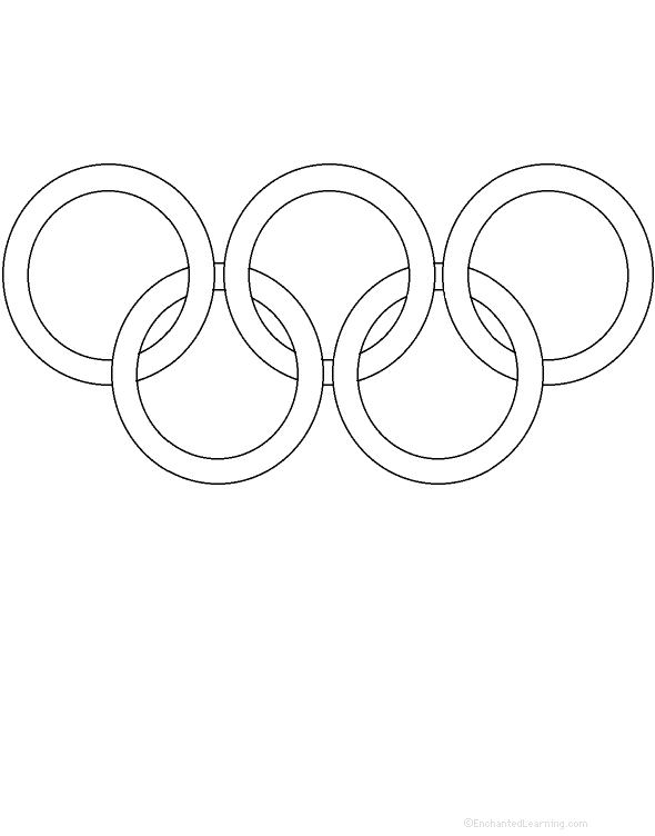 Olympic Rings Perimeter Poem