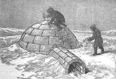 "Igloo, from ""Science: An Illustrated Journal"", 1883"
