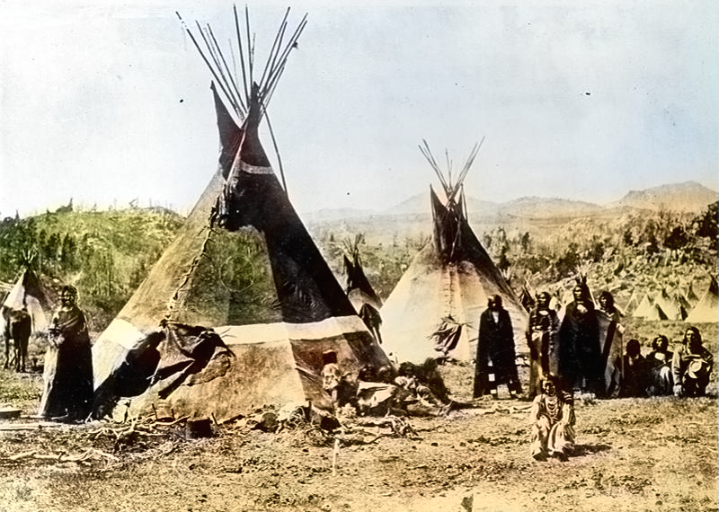 Dwellings of Native Americans
