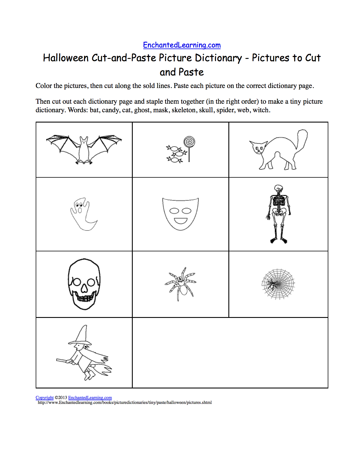 October Preschool Worksheets - Planning Playtime