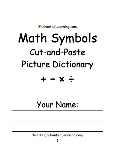 Symbols At Enchantedlearning