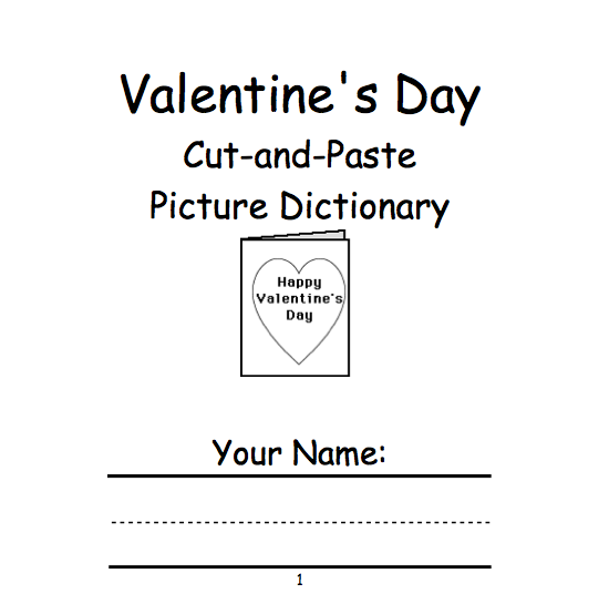 valentines day beginning readers books enchantedlearningcom
