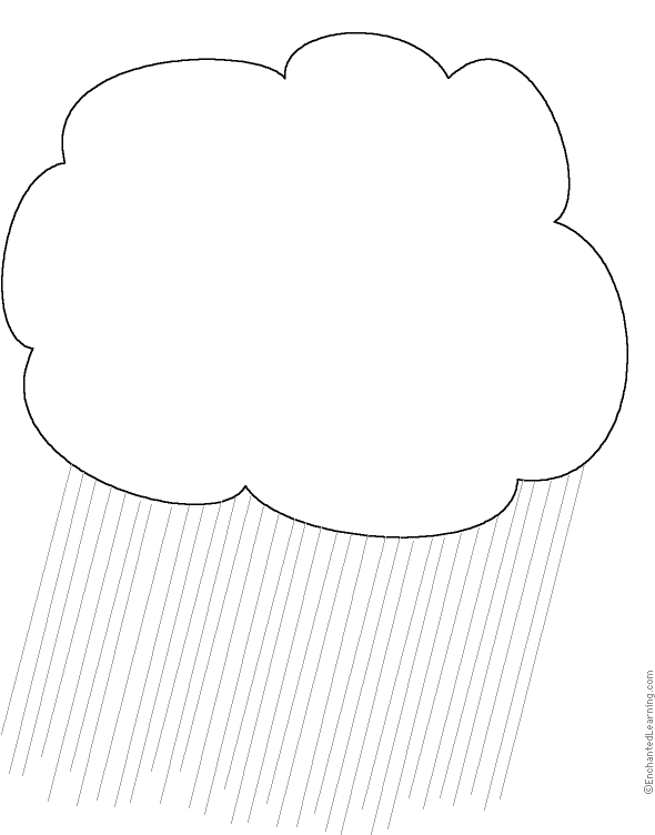 WeatherRelated Writing Activities at EnchantedLearning – Cloud Worksheet