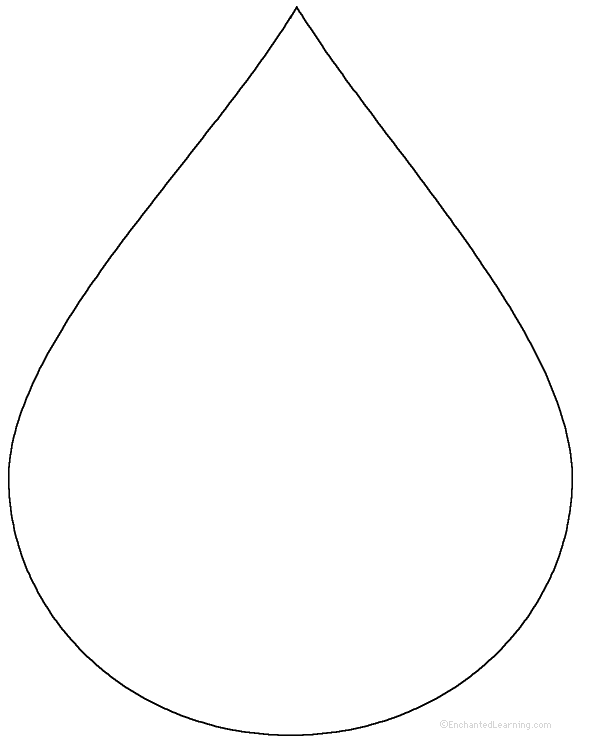 Water Droplet Tracing/Cutting: EnchantedLearning.com