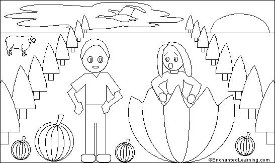 enchanted learning artists coloring pages - photo#10