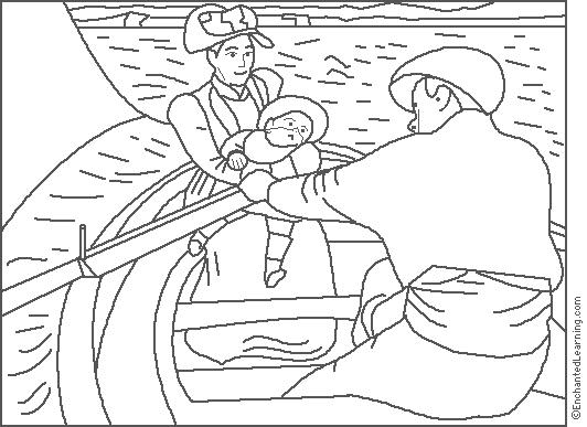 enchanted learning artists coloring pages - photo#2