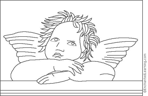 enchanted learning artists coloring pages - photo#19