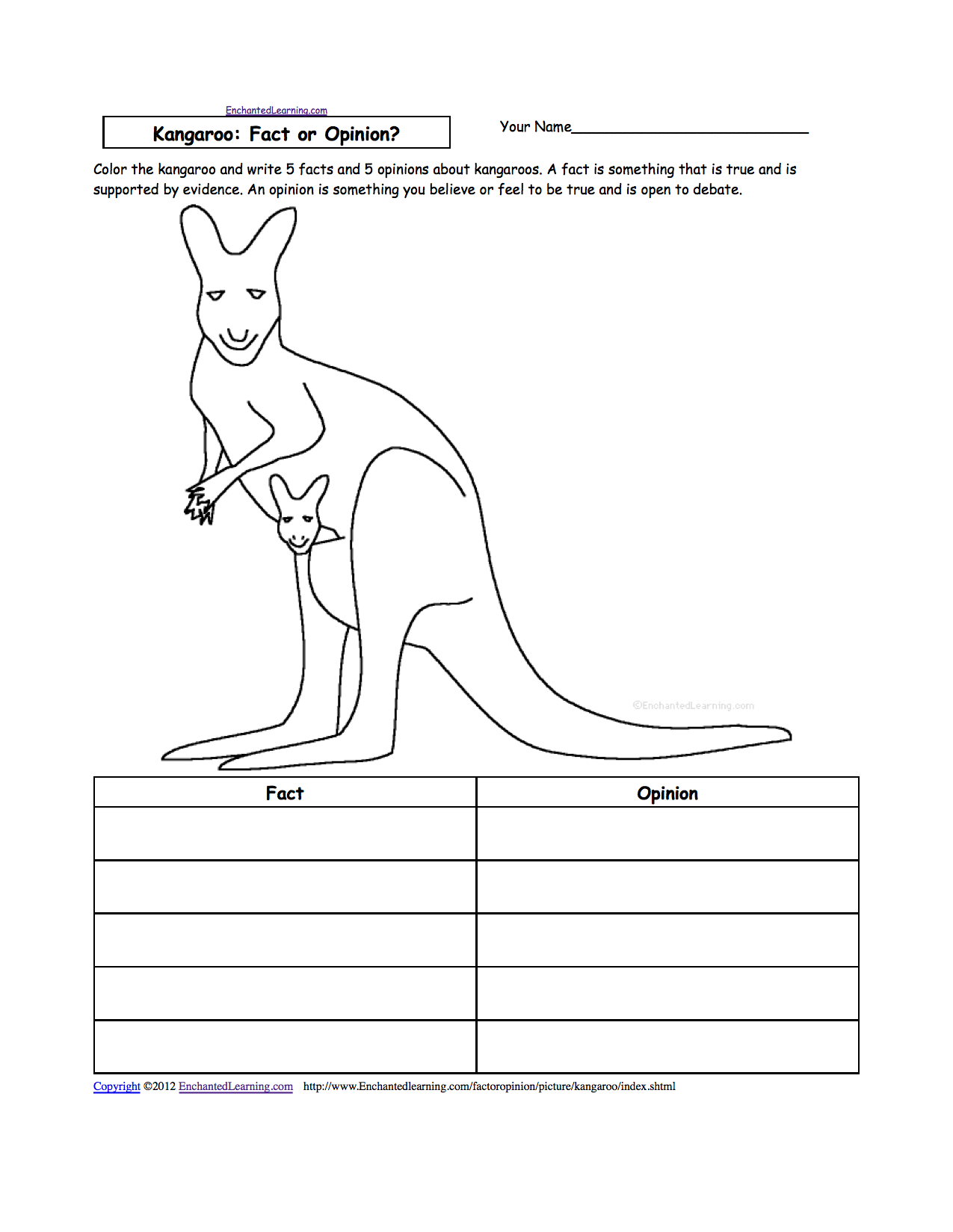 Worksheets Mammal Worksheets animal writing worksheets at enchantedlearning com