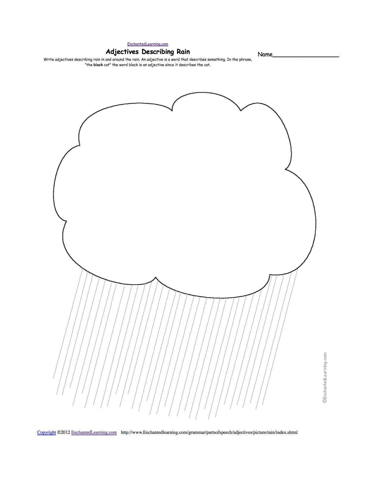 worksheet Rain Worksheets weather related activities at enchantedlearning com rain