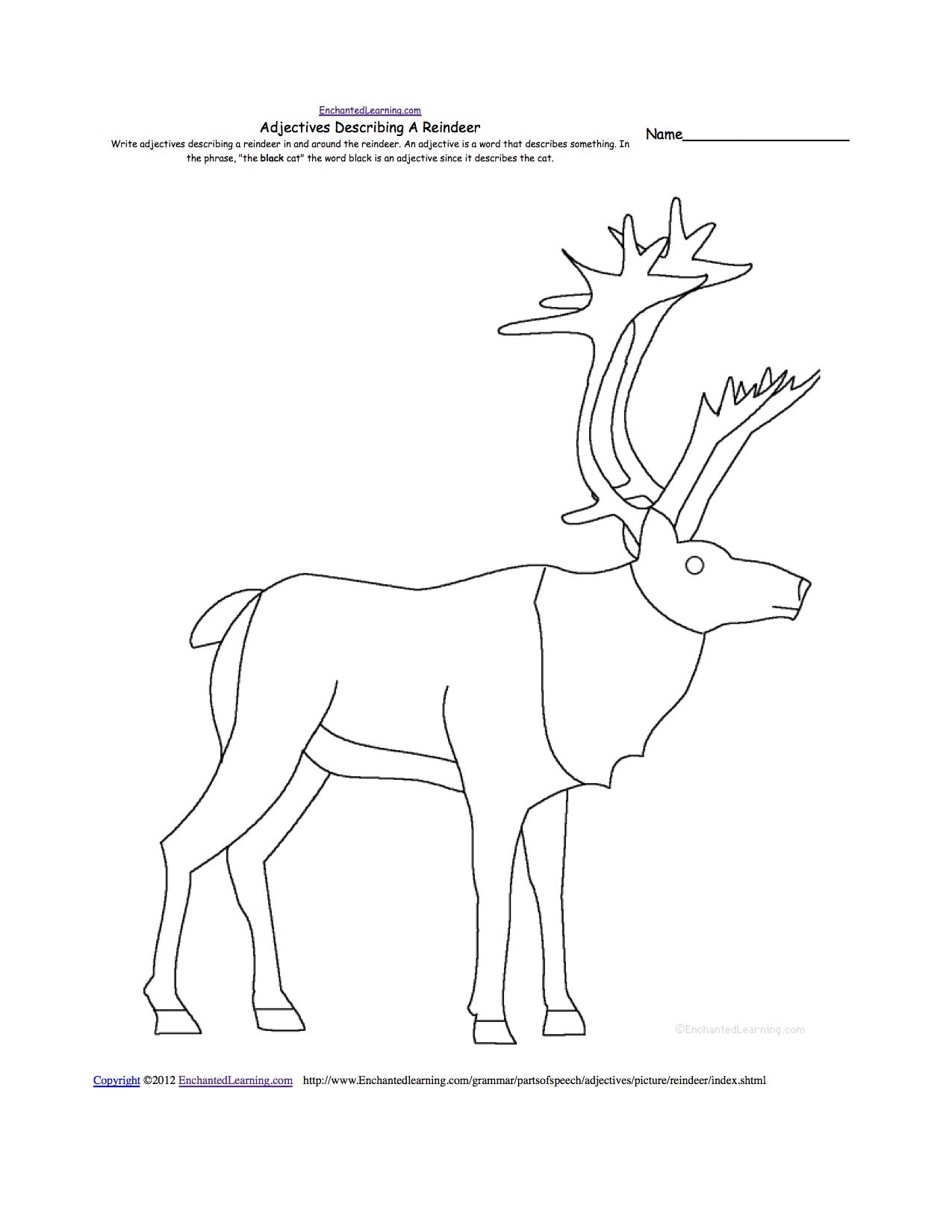 Animal Writing Worksheets at EnchantedLearning.com