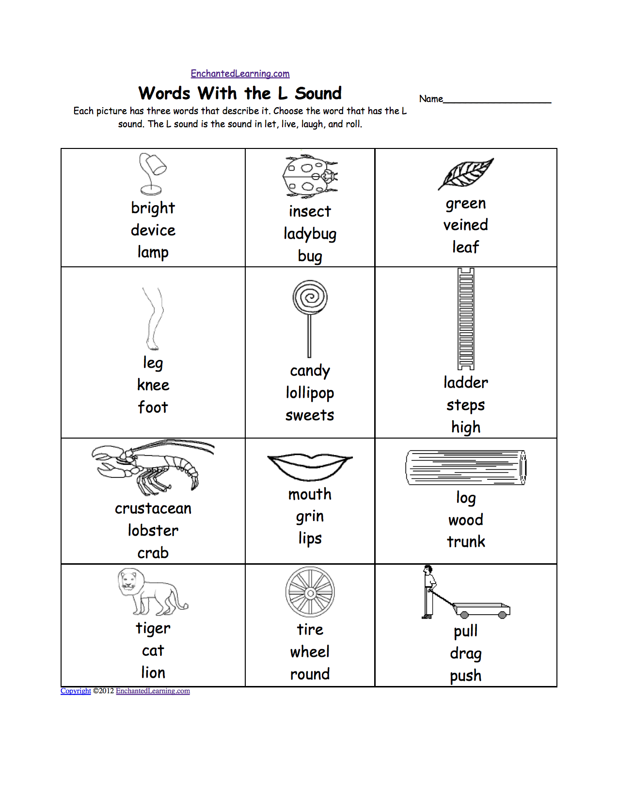Free Worksheet Letter L Worksheets For Preschool letter l alphabet activities at enchantedlearning com