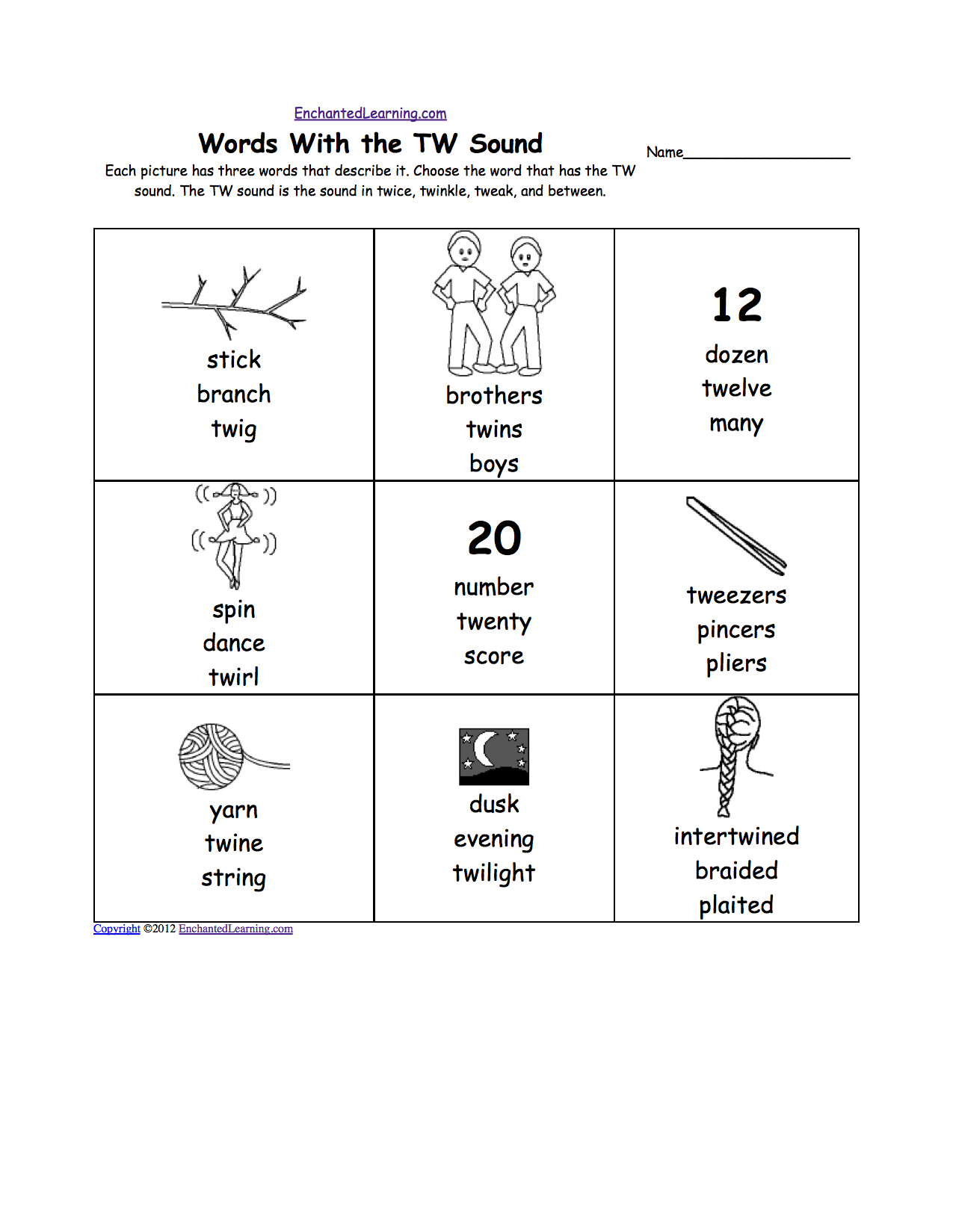 Worksheets Blend Worksheets phonics worksheets multiple choice to print enchantedlearning com