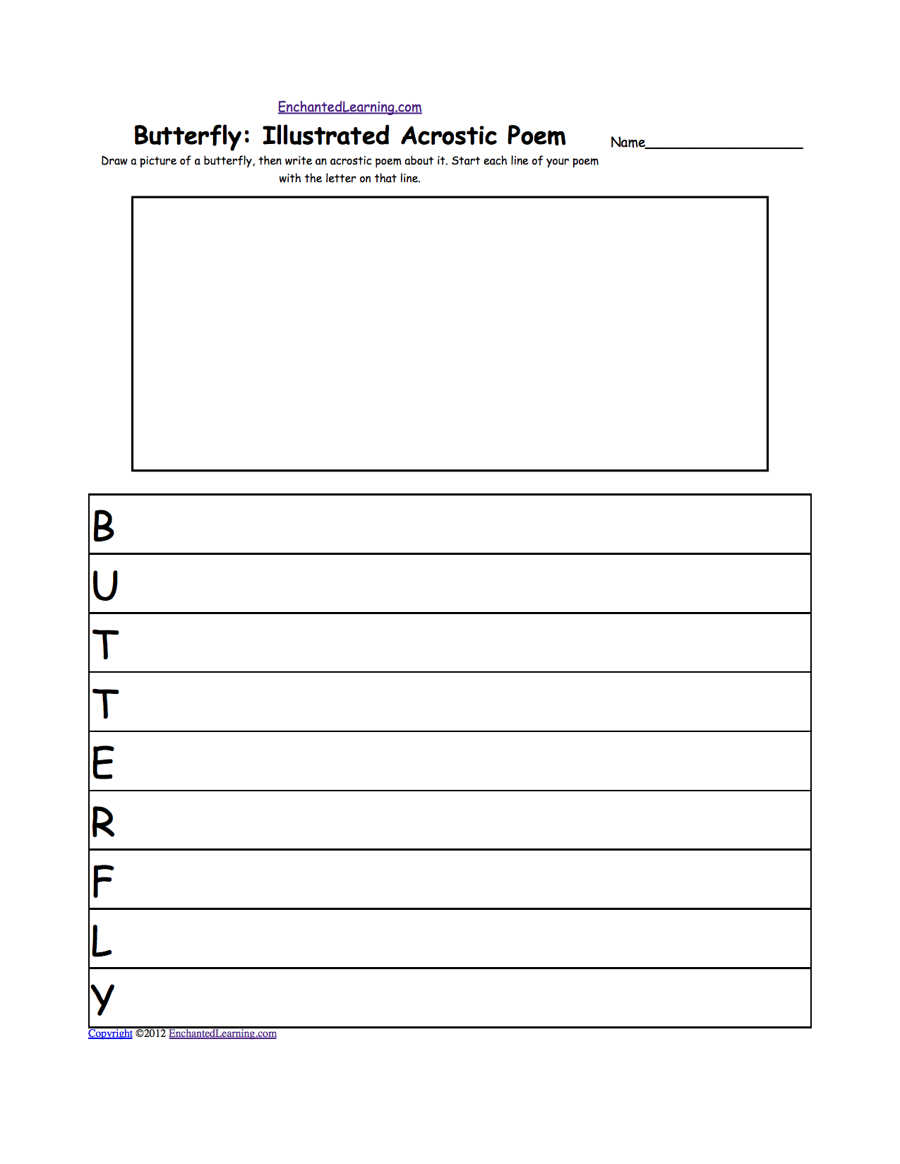 Printables Monarch Butterfly Worksheets butterflies at enchantedlearning com