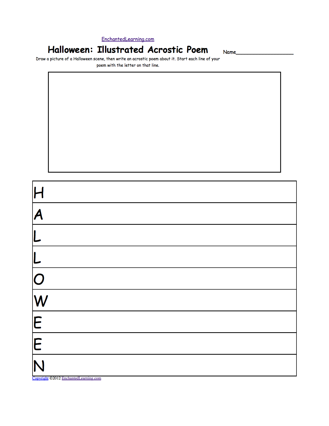 halloween activities writing worksheets com