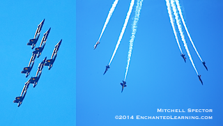 Blue Angels: Up and Down