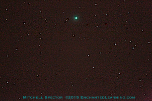 Zooming in on Comet Lovejoy C/2014 Q2