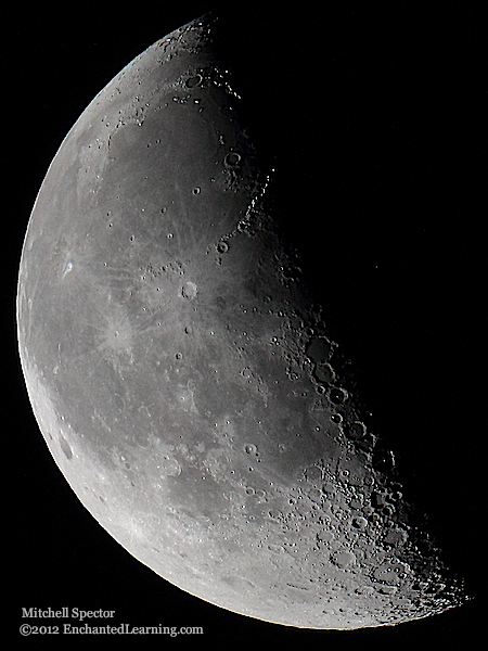 Fourth Quarter Moon Last Quarter Moon in t...