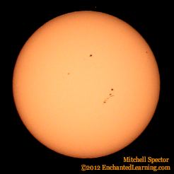 Large Sunspot Cluster Today