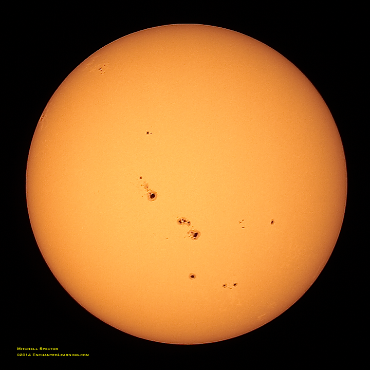 an overview of sunspots Sunspot regions help on this page you'll find an overview of all the visible sunspot regions on the sun together with their properties, images and the chances on solar flares or proton.