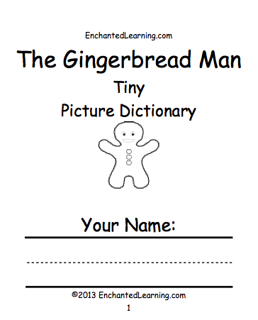 The Gingerbread Man's Book Cover
