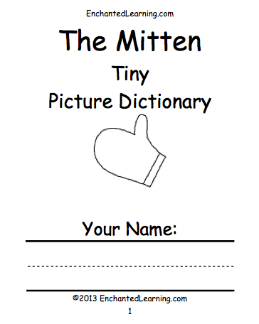 The Mitten's Book Cover