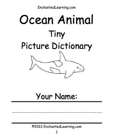 Ocean Books To Print Enchantedlearning Com