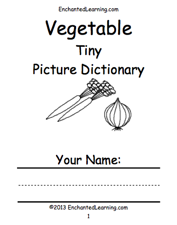 Vegetable's Book Cover