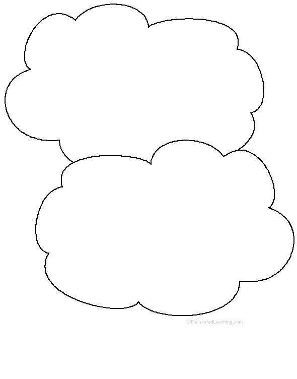 picture about Printable Clouds referred to as Adjectives Conveying the Clouds - Printable Worksheet
