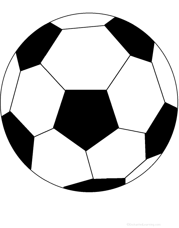 image relating to Soccer Ball Template Printable identify Football Ball: Perimeter Poem - Printable Worksheet