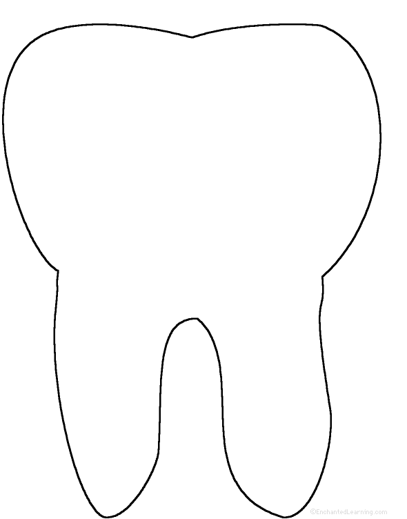 picture regarding Printable Tooth named Teeth: Perimeter Poem - Printable Worksheet