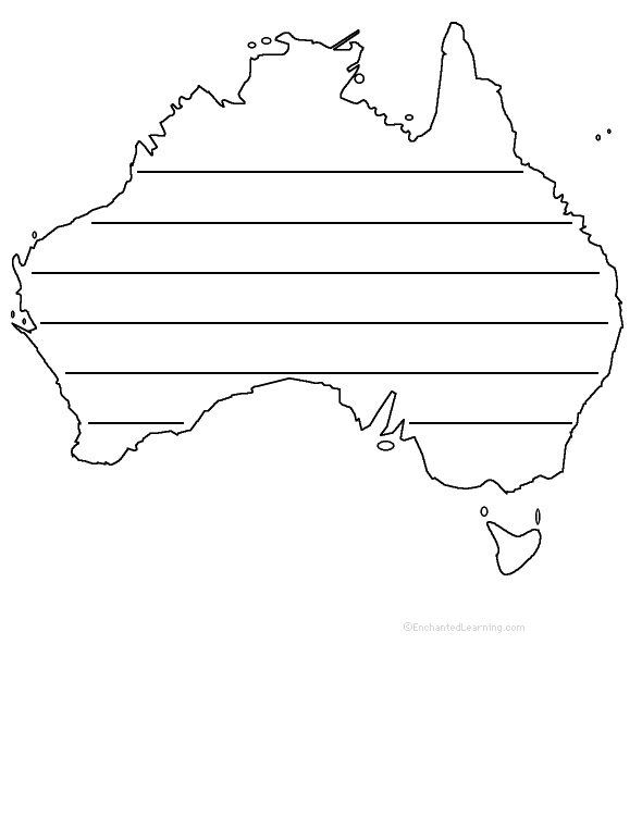 Australia: States and Territories - ZoomSchool com