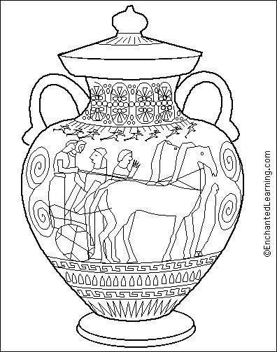 free ancient greece coloring pages - photo#18
