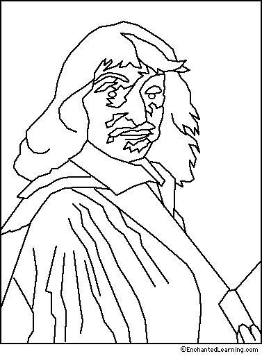 Frans Hals Coloring Page