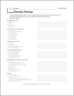Enchanted Learning Reading Challenge