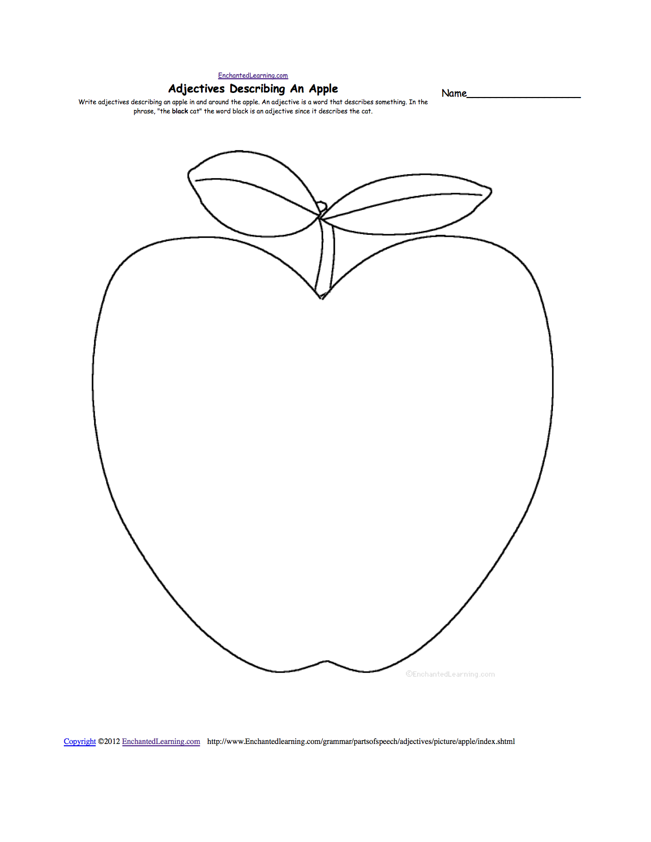picture about Free Printable Apple Worksheets known as Apples at