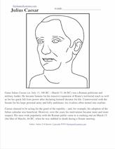Julius Caesar Enchantedlearning Com Julius Caesar Family Julius Caesar Printout And Short Biography