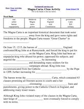 magna carta definition for kids