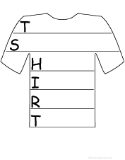 t-shirt acrostic poem