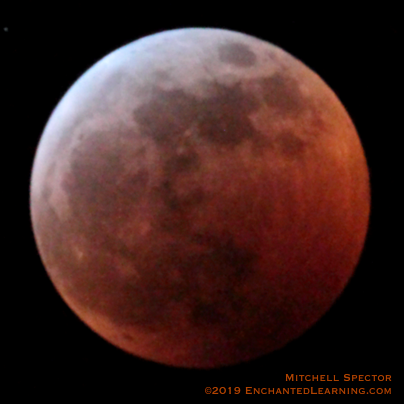 Total Lunar Eclipse of January 21, 2019 - Wolf Moon