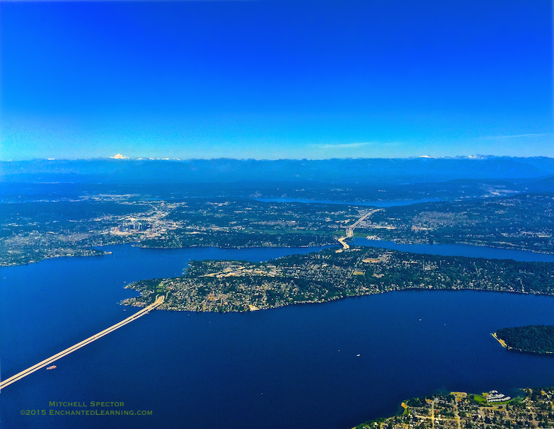 From Seattle to the Cascade Mountains