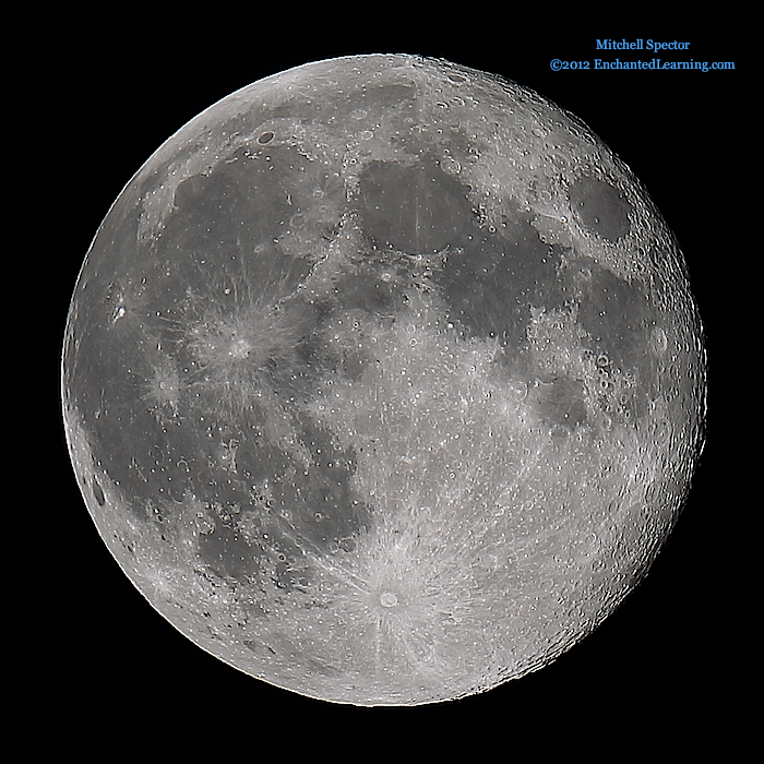 Second Day of the Harvest Moon 2012, 99% Illuminated