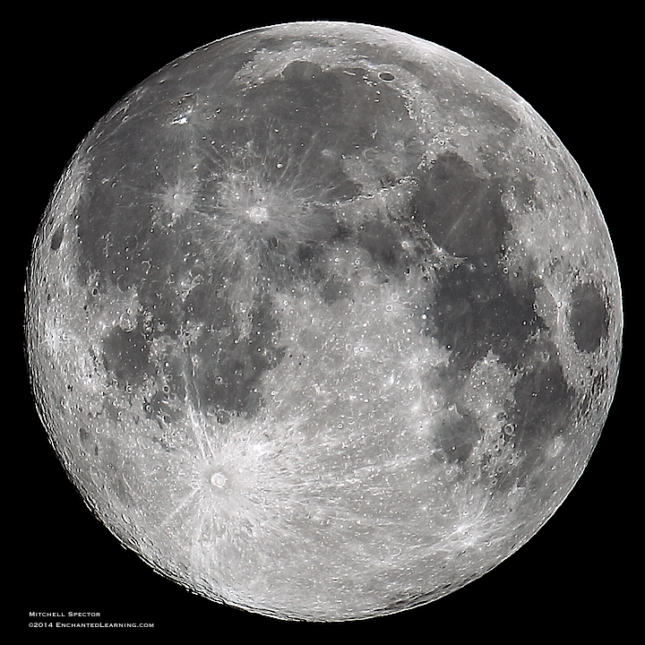 Ten Hours before the August 2014 'Supermoon'