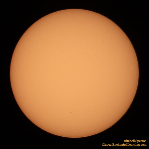 One Lone Sunspot